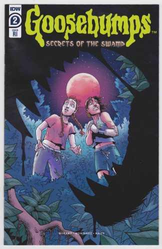 Goosebumps Secrets of the Swamp #2 1:10 Clara Meath RI Variant IDW 2020 VF/NM