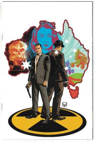James Bond 007 #3 1:10 Dave Johnson Virgin Variant Dynamite 2018 VF/NM