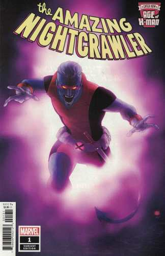 Age of X-Man Amazing Nightcrawler #1 1:50 Khoi Pham Variant Marvel 2019
