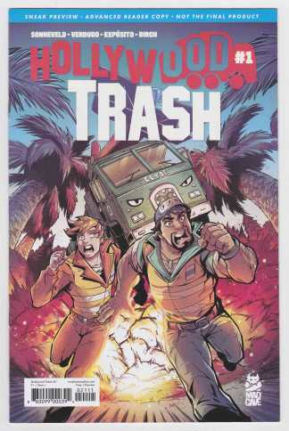 Hollywood Trash #1 Sneak Preview Advanced Reader's Copy Mad Cave 2020 VF/NM