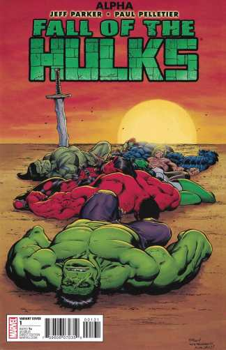 Fall of the Hulks Alpha #1 McGuinness New Years Eve Variant Marvel 2009