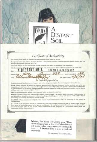 A Distant Soil #1 23 Starter Pack Deluxe Signed Numbered Colleen Doran LTD 500