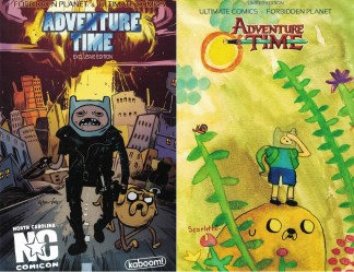 Adventure Time #9 NC Comicon Exclusive Tommy Lee Scarlett Edwards Flip Variant