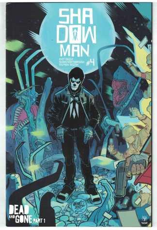 Shadowman #4 1:20 Lafuente Variant Cover C Valiant 2018 VF/NM