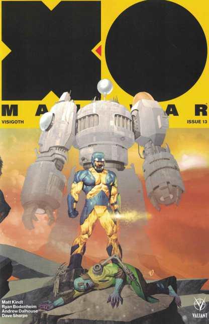 X-O Manowar #13 1:20 Ariel Olivetti Variant Cover C Valiant 2017