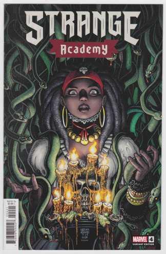 Strange Academy #4 Art Adams Character Spotlight Variant Marvel 2020 VF/NM