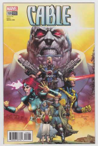 Cable #159 1:25 Anacleto Final Issue Apocalypse Variant Marvel Legacy 2018 VF/NM