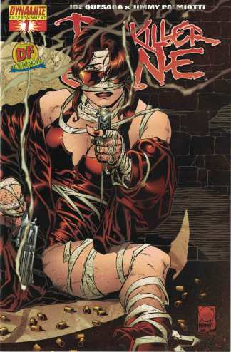 Painkiller Jane #1 Dynamic Forces Exclusive Cover COA Dynamite 2006