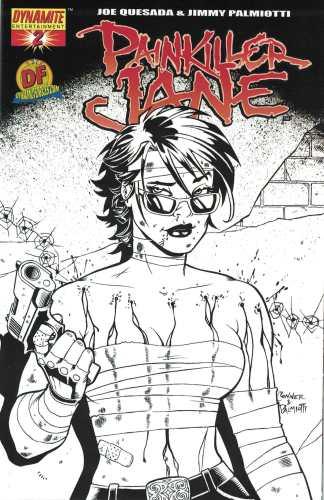 Painkiller Jane #2 Dynamic Forces Exclusive Black White Variant NO COA 2006