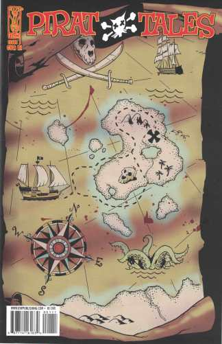 Pirat Tales Legend of Cat O Nine Tales #1 Artiz Eiguren IDW RI 2008