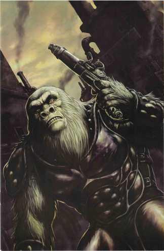 Planet of Apes #2 1:10 Karl Richarson Virgin Art Variant Boom Cover C 2011