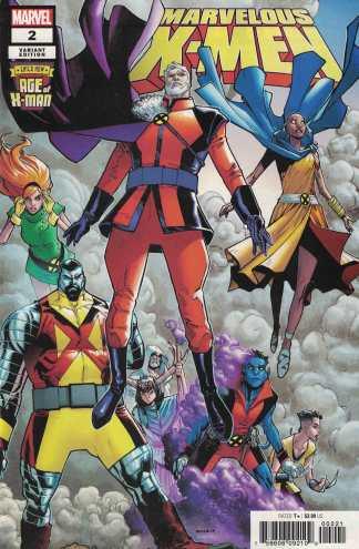 Age of X-Man Marvelous X-Men #2 1:25 Humberto Ramos Variant Marvel 2019