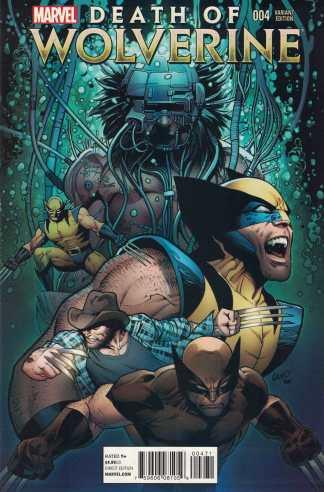 Death Of Wolverine #4 Greg Land Final Variant Marvel 2014