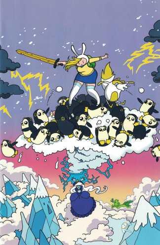 Adventure Time Fionna & Cake #4 1:15 Rachel Dukes Variant Boom 2012
