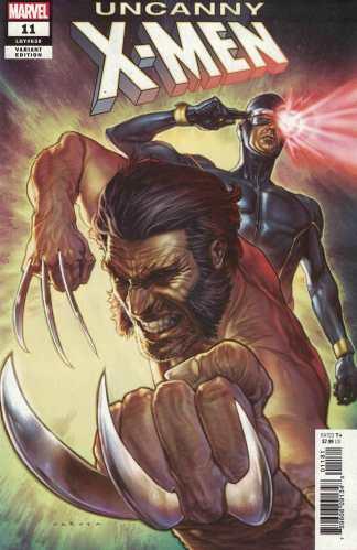 Uncanny X-Men #11 1:25 Lewis Larosa Variant Marvel 2019 Wolverine Cyclops