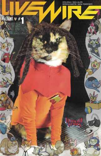 Livewire #1 Ultimate Comics Exclusive Cat Cosplay Variant Valiant 2018