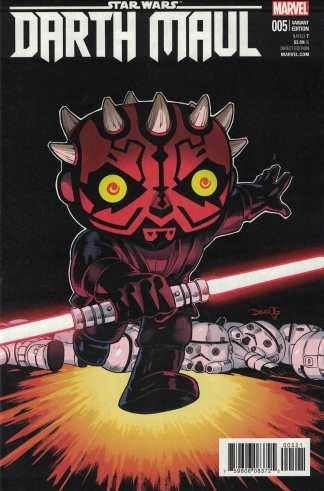 Star Wars Darth Maul #5 1:25 Olortegui Funko Pop Variant Marvel 2017