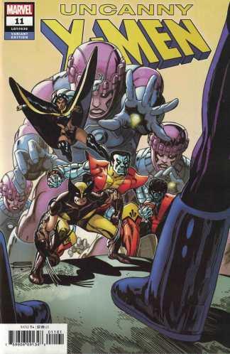 Uncanny X-Men #11 1:100 Gil Kane Hidden Gem Variant Marvel 2019