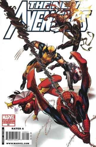 New Avengers #50 Adam Kubert Variant Marvel 2005