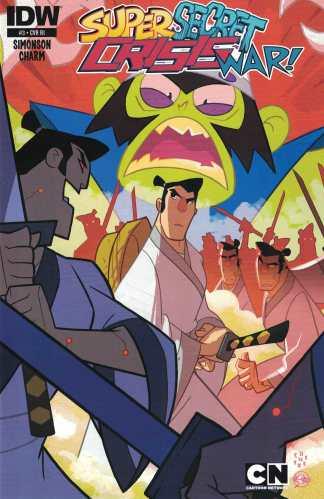 Cartoon Network Super Secret Crisis War #3 1:10 Incentive Variant RI