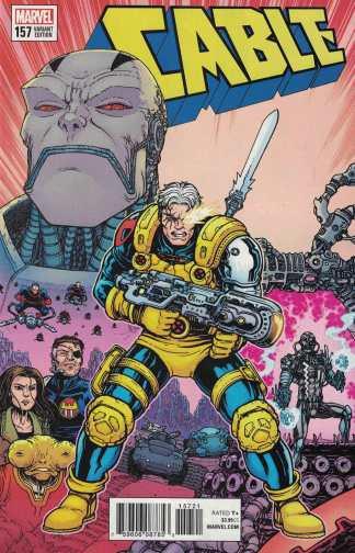 Cable #157 1:25 Chris Burnham Variant Marvel Legacy