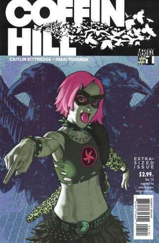 Coffin Hill #1 1:13 Gene Ha Variant Vertigo DC 2013