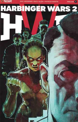Harbinger Wars 2 Prelude #1 1:20 Cary Nord Variant Cover C Valiant 2018