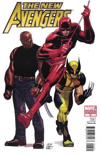 New Avengers #16 1:26 John Romita Jr Marvel Architects Variant 2010 JRJr