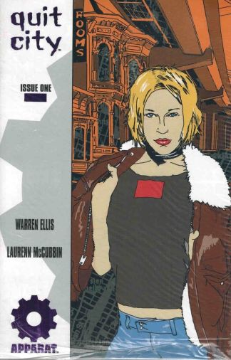 Quit City #1 Purple Foil Variant Warren Ellis