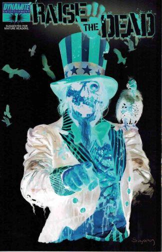 Raise the Dead #1 Arthur Suydam Photo Negative Uncle Sam Variant
