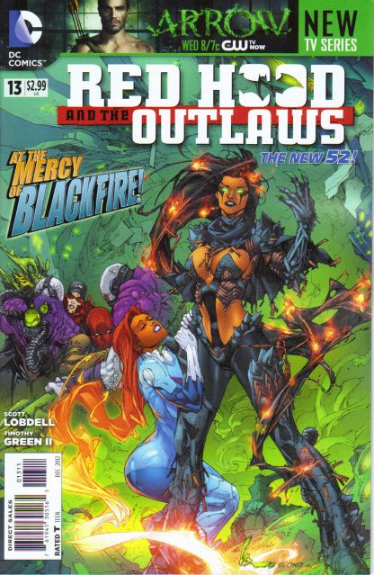 Red Hood and the Outlaws #13 1st Printing Death of the Family New 52! Joker