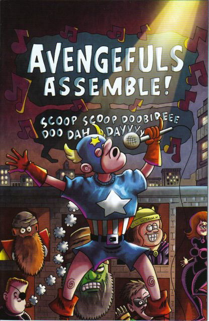 Rich Johnston's The Avengefuls #1 Fred Hembeck Variant