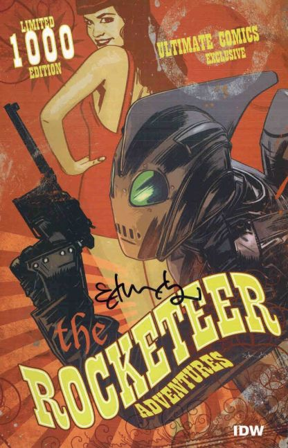 Rocketeer Adventures #1 Ultimate Comics Variant Signed by Tommy Lee Edwards