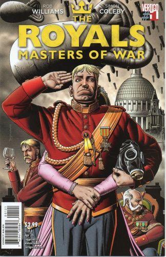 Royals: Masters of War #1 Brian Bolland Variant
