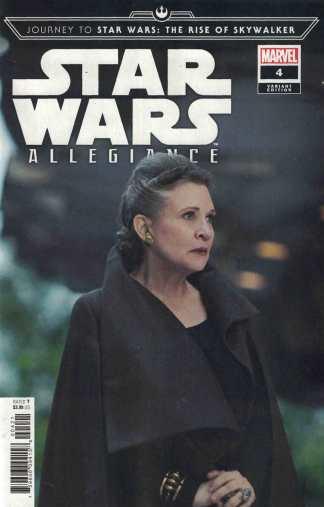 Journey To Star Wars Rise of Skywalker Allegiance #4 1:10 Photo Variant 2019