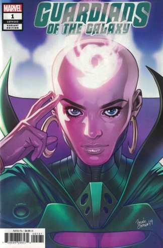 Guardians of the Galaxy #1 1:25 Belen Ortega Variant Marvel 2020 LGY #163