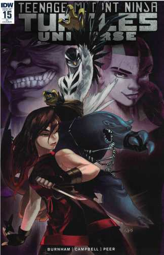 Teenage Mutant Ninja Turtles Universe #15 1:10 Kaori Matsuo Variant IDW 2016