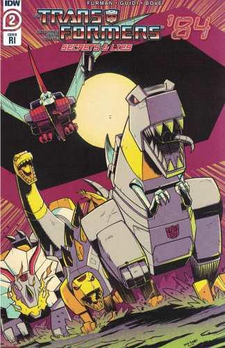 Transformers '84 Secrets & Lies #2 1:10 Nick Roche RI Variant IDW 2020