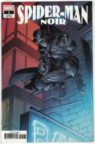 Spider-Man Noir #1 1:25 Mark Bagley Variant Marvel 2020 VF/NM