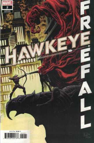 Hawkeye Freefall #2 1:25 Kyle Hotz Variant Marvel 2020