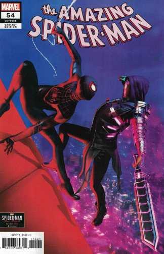 Amazing Spider-Man #54 1:10 Gavin Goulden Miles Morales Variant 2018