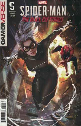 Spider-Man Black Cat Strikes #5 1:25 Inhyuk Lee Variant Marvel 2020