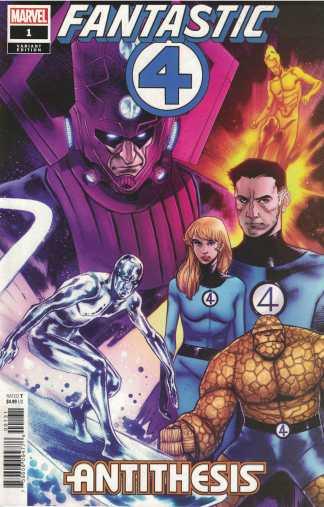 Fantastic Four Antithesis #1 1:25 Sara Pichelli Variant Marvel 2020