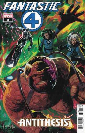 Fantastic Four Antithesis #2 1:50 Daniel Acuna Variant Marvel 2020