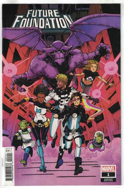 Future Foundation #1 1:25 Miyazawa Variant Marvel 2019 VF/NM
