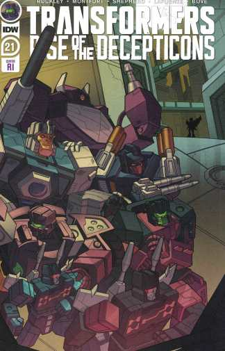 Transformers #21 1:10 Philip Murphy Variant IDW 2019 Rise Decepticons