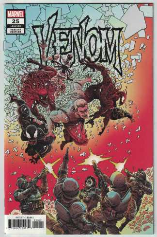 Venom #25 1:25 James Stokoe Variant Marvel 2018 Venom Island VF/NM