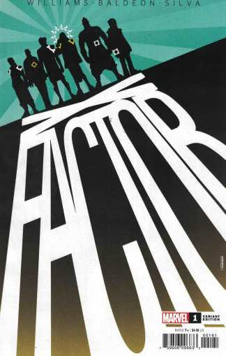 X-Factor #1 1:25 David Baldeon Variant Marvel DX 2020