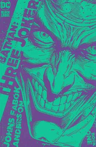 Batman Three Jokers #1 1:25 Jason Fabok Green Variant DC 2020