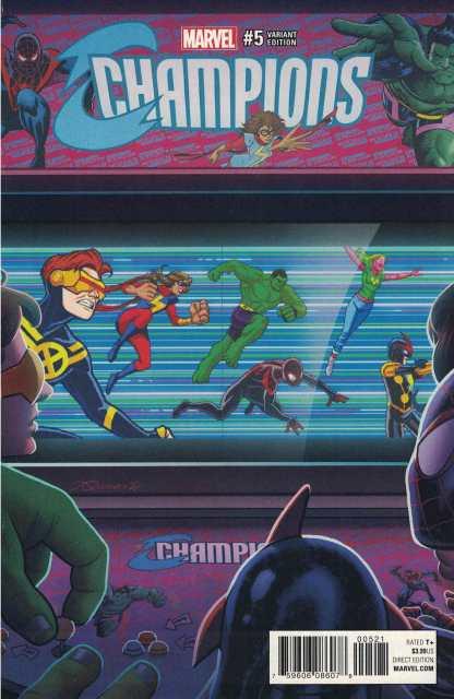 Champions #5 1:10 Joe Quinones Variant NOW Marvel 2016